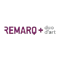logo Remarq+ duo d'art
